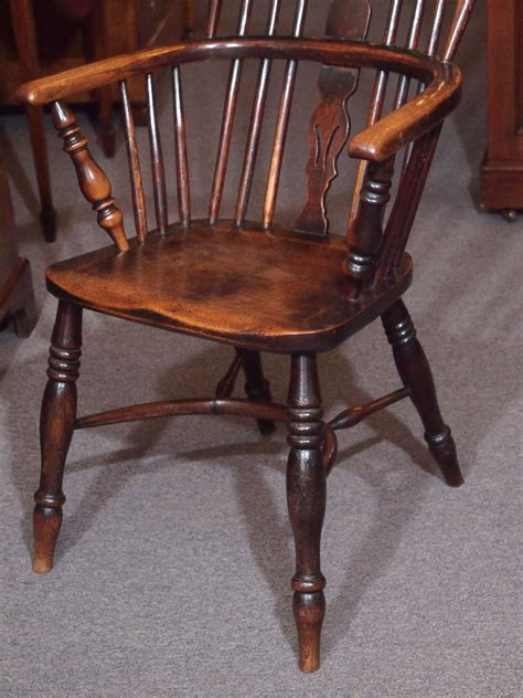 antique windsor bench antique english elm and ash windsor chair with crinoline