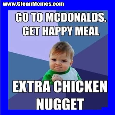 Happy Meal Meme - 30 very funniest chicken meme pictures and photos