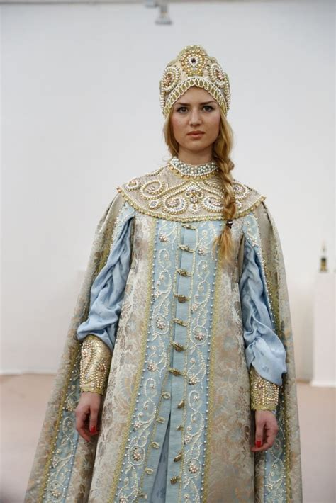 russian costumes fashion images  pinterest