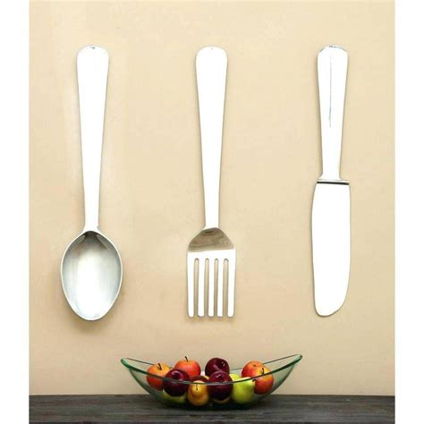 kitchen utensil design 20 the best large utensil wall art