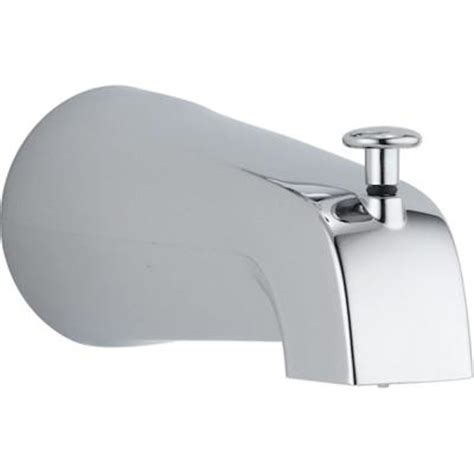 faucet cover for bathtub diverter tub spout in chrome rp19895 the home depot