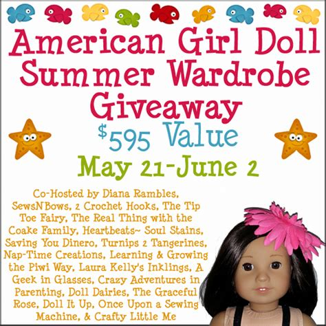 american girl doll giveaway plushie patterns - American Girl Doll Giveaway