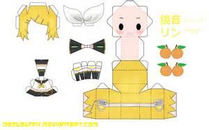 Papercraft Animation - descarga papercraft vocaloid