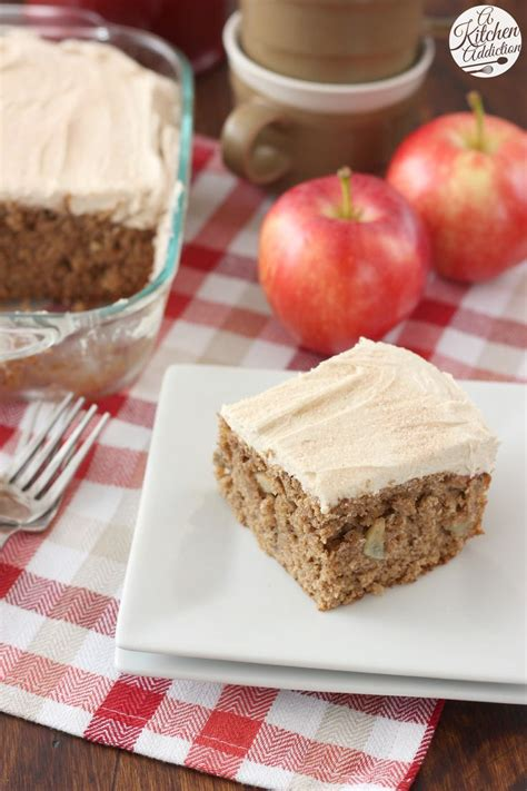 apple cake with maple frosting recipe thanksgiving coconut and dinner parties