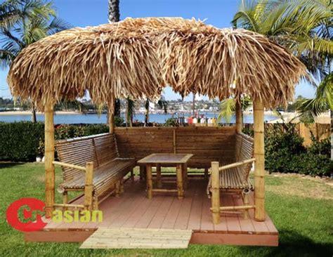 Tiki Bar Hut For by Bamboo Umbrella Bamboo Palapa Bamboo Gazebo Thatch