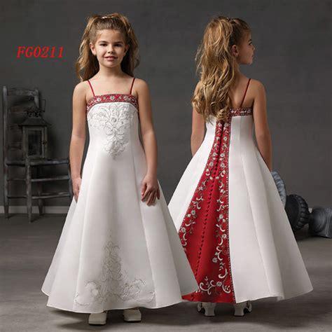 Bj 9722 White Blue Flowers Dress children s flower dresses discount wedding dresses