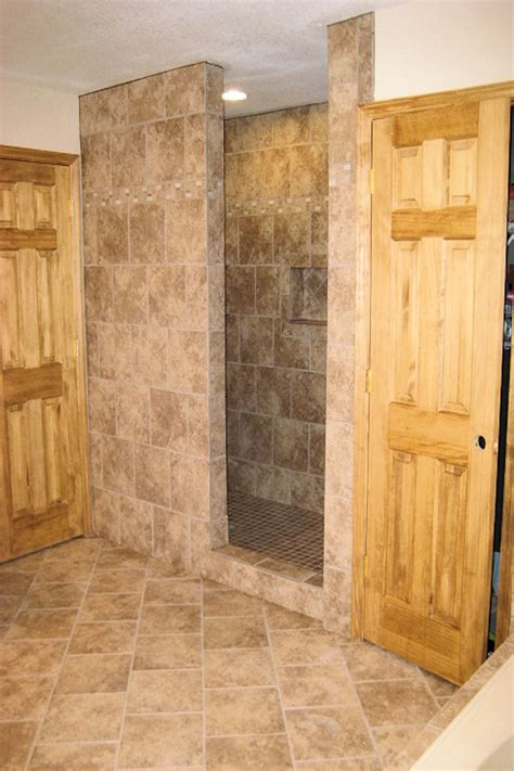Bathroom Tile Designs Ideas by Custom Tile Shower Ak Britton Construction Llc