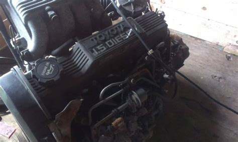 Toyota 1n Engine For Sale Toyota Starlet Diesel Engine For Sale In Horseleap Offaly