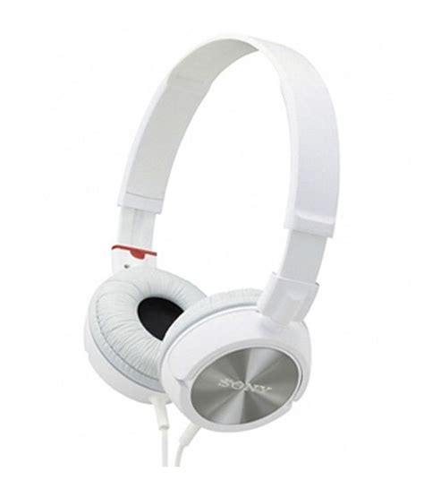 Headphone Sony Zx300 buy sony mdr zx300 sound monitoring ear headphone white without mic at best price