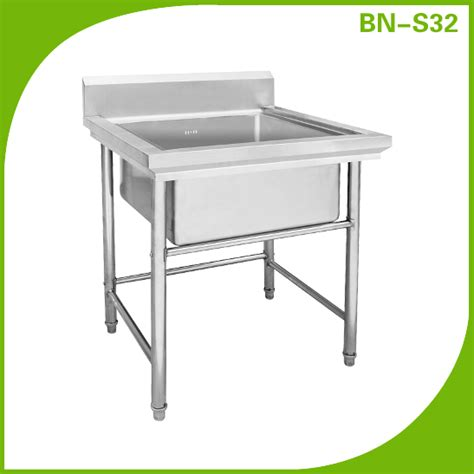 Meja Kerja Metal dapur wastafel stainless steel meja kerja kitchen sink