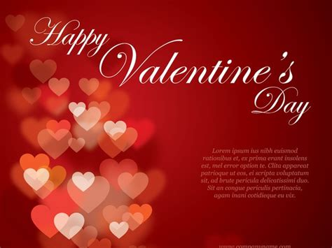 valentines flyer heart vector graphics art free