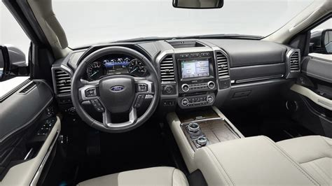 ford expedition 2018 interior 2018 ford expedition revealed up to 136kg lighter