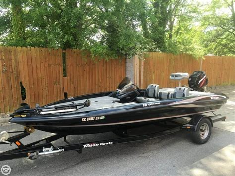 used triton bass boats for sale 2008 used triton 18 bass boat for sale 15 000 inman