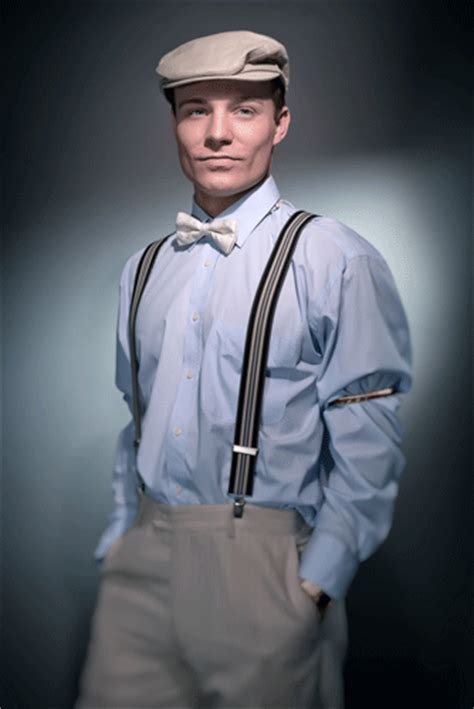 1920s mens fashion suspenders