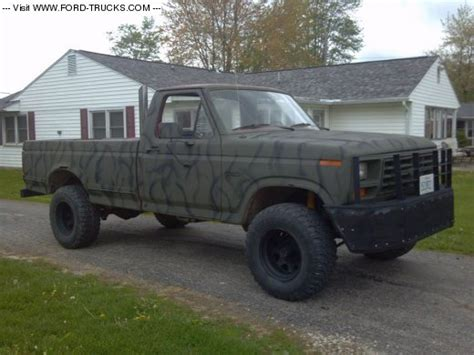1982 ford f250 1982 ford f250 4x4 the toad