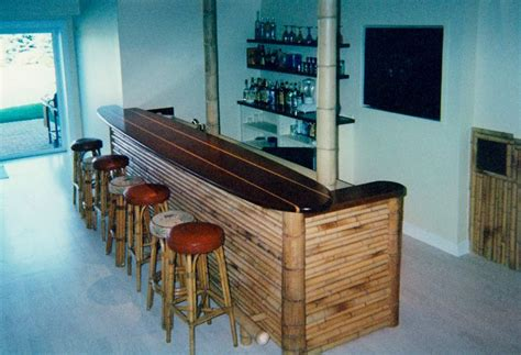 Surfboard Bar Table Surf Bar Shack Surfboard Bar And Bamboo