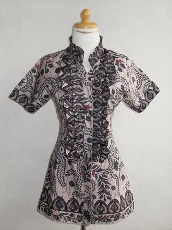 desain baju batik drees model batik danarhadi terbaru holidays oo