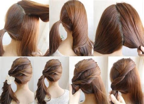 easy hairstyles step by step with pictures 20 cute easy hairstyles collection 2017 sheideas