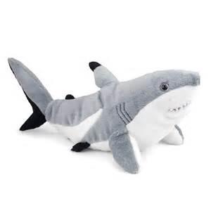shark plush plush blacktip shark 15 inch stuffed animal cuddlekin by