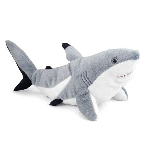 shark plush plush blacktip shark 15 inch stuffed animal cuddlekin by republic