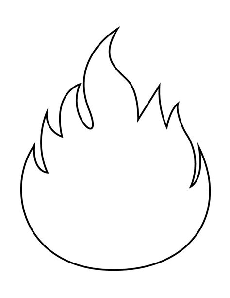 flames template 17 best images about printables on coloring