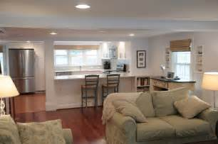 open floor plan kitchen living room beach house open floor plan