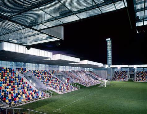 lasesarre football stadium no mad archdaily lasesarre football stadium by no mad