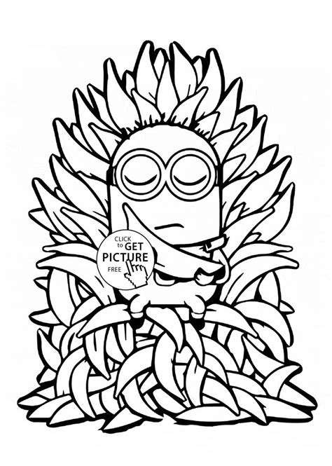 minion turkey coloring page 248 best images about minions coloring pages on pinterest