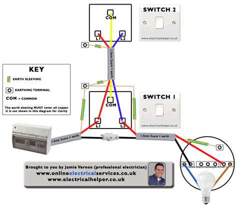 wiring diagram for two way switch one light efcaviation com