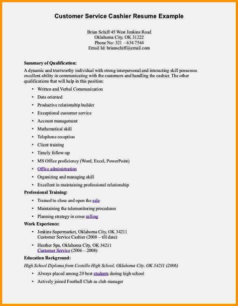 Customer Service Skills For Resume by Customer Service Skills List On A Resume Resume Template