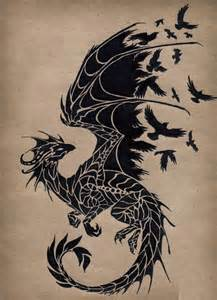 Halo Wall Mural dragon tattoo images amp designs