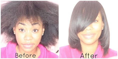 Watch The Magic Of Hair Transformation After A Sleek Silk Press On Natural Hair. Looks Gorgeous