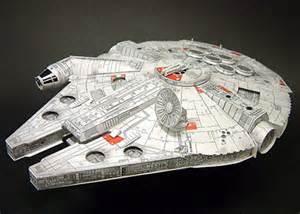 millennium falcon paper model papercraft millennium falcon