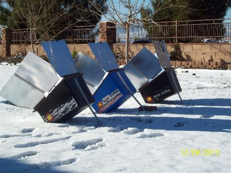 Do Sunlight Ls Work by Solar Cooking In Winter