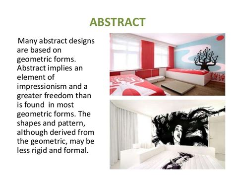 naturalistic pattern definition interior designing