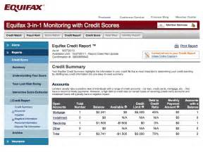 Credit Report Sample Equifax Credit Report Related Keywords Amp Suggestions Credit