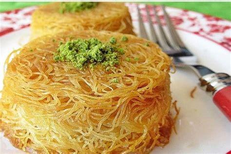 tel kadayif tatlisi pratik ev yemek tarifleri en nefis y tel kadayıf tatlısı yapılışı