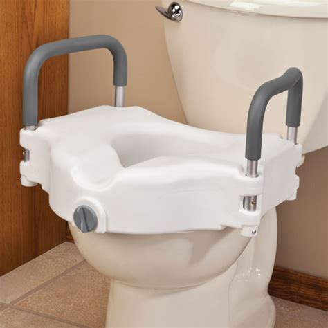 toilet seat with arms locking raised toilet seat with arms toilet aids easy