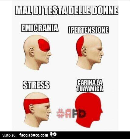 mal di testa stress mal di testa delle donne emicrania ipertensione stress