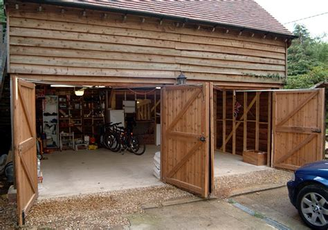 Unique Barn Garage Doors With Side Hinged Barn Doors A Hinged Barn Doors
