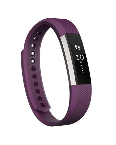 Fitbit Alta Hr Fuschia L Idn fitbit alta activity wristband in purple lyst