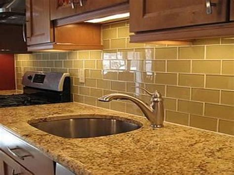 How To Tile A Kitchen Wall Backsplash Green Subway Tile Backsplash How To Remodel With Oak