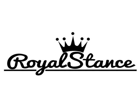 royal stance oto sticker stickerimcom