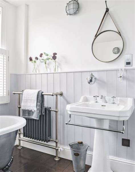 Vintage Wainscoting by Wainscoting In Bathrooms 25 Stylish Ideas Digsdigs