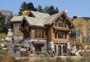 targhee log cabin home rustic luxury log cabins plans