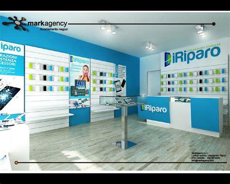 arredamento negozi telefonia progetto negozio riparazione cellulari arredamento per