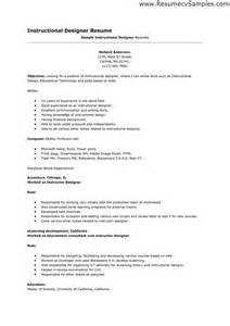 Graphic Designer Resume Objective Sle by Design Resume Sales Designer Lewesmr