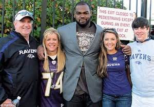 the blind s michael oher blames bullock s the blind side
