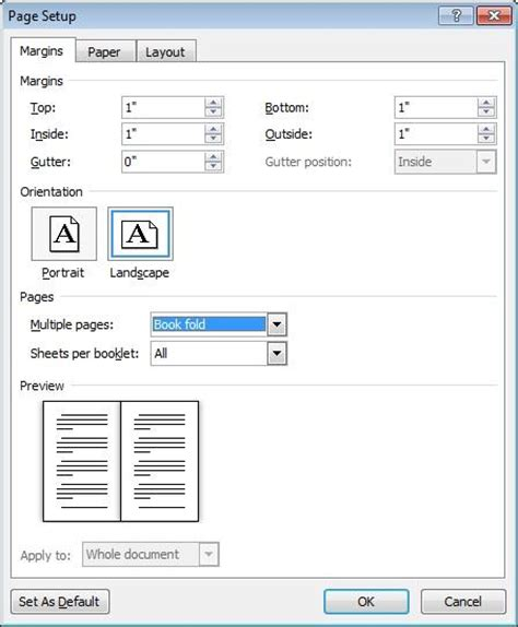 word layout for booklet booklets in word 2010 office blogs