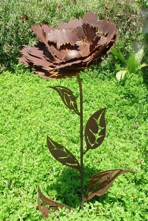 Garden Metal by Best 25 Metal Garden Flower Ideas On Metal